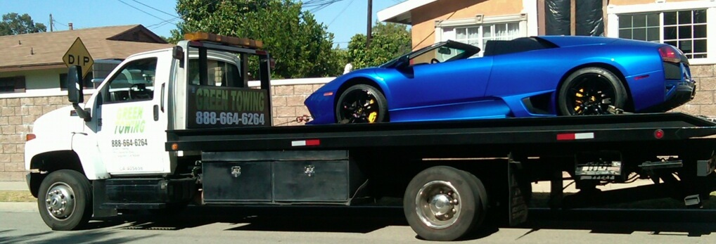 Exotic Car Towing Los Angeles