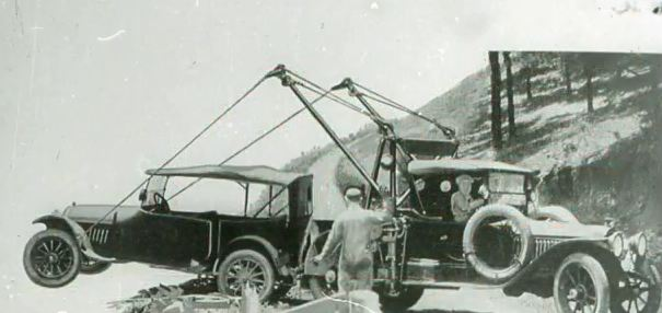 The first tow truck